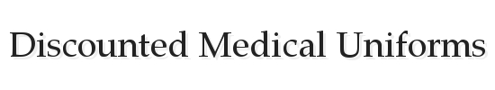 Discounted Medical Uniforms Logo www.discountedmed