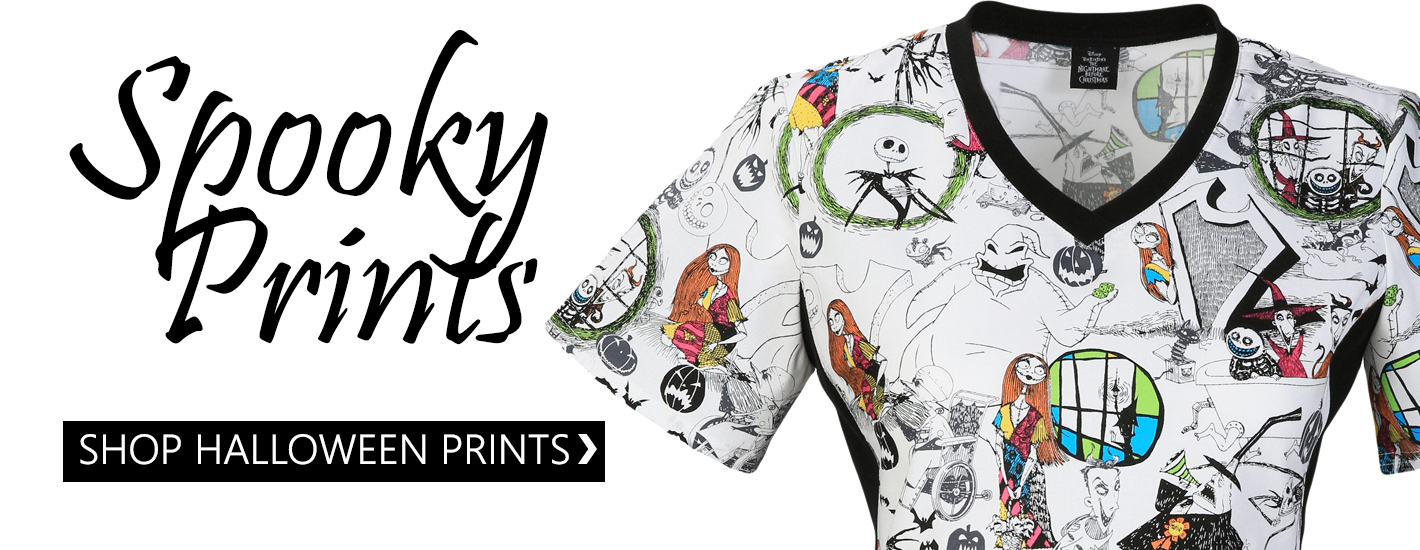 Spooky prints at scary low prices!