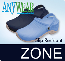 Zone featuring new Slip Resistant Technology