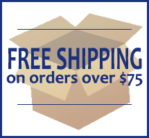 Free Standard Shipping on orders over $75